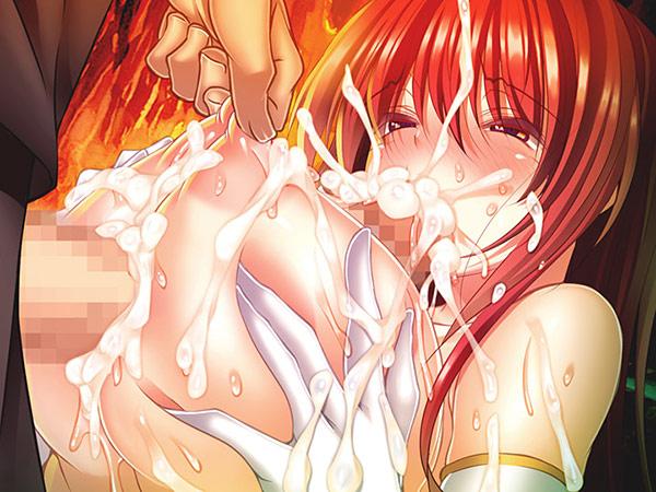 姫騎士シャロンと異世界の勇者 パイズリフェラ エロゲ画像