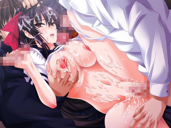 学園淫辱輪舞曲 Hシーン 輪姦 エロゲ画像